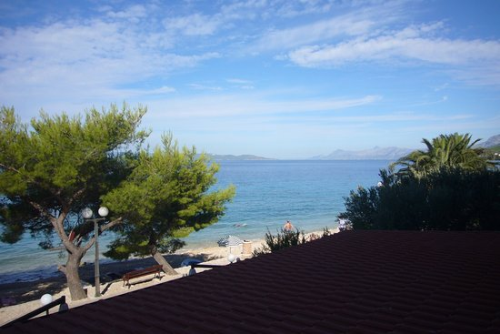 Tucepi, Croazia: View from the balcony