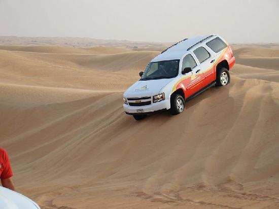 Arabian Adventures: ooohhh..... steep dune....