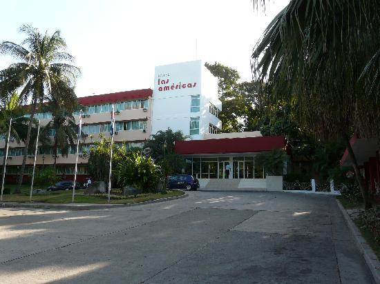 Isazul Hotel Las Americas Entrada