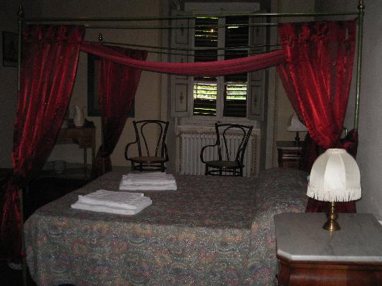 Villa  Vistarenni: la camera di mia sorella