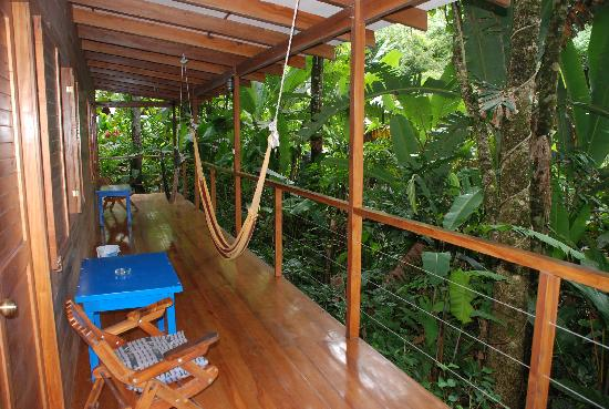 El Tucan Jungle Lodge: The terrace