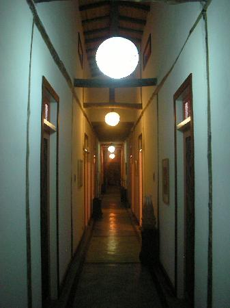 Hotel Pousada Guarana : Hallway
