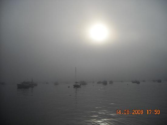 Мэн: Sunset over Bar Harbour