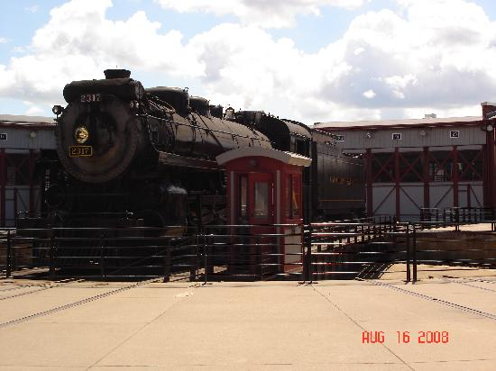 Steamtown National Historic Site : Train
