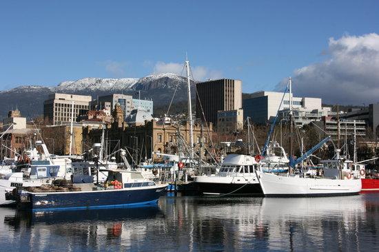 Hobart, Australia: Waterfont