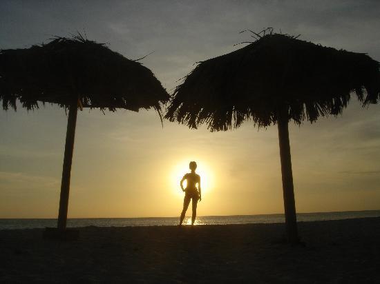 Arashi Beach : sunset