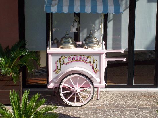 Caorle, Italy: das beste Eis