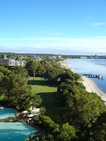 Caloundra Central Apartment Hotel: View from the balcony