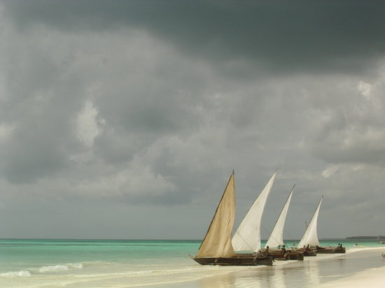 Zanzibar, Tanzania: barche