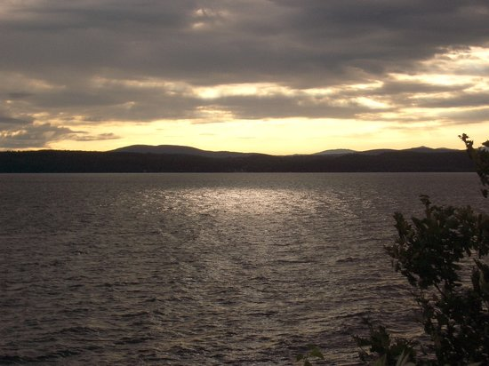 Sunset on Lake Champlain, near South Hero