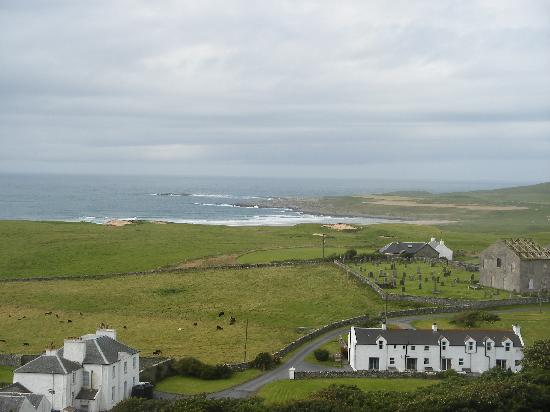 Islay Cottages : The cottages from a distance