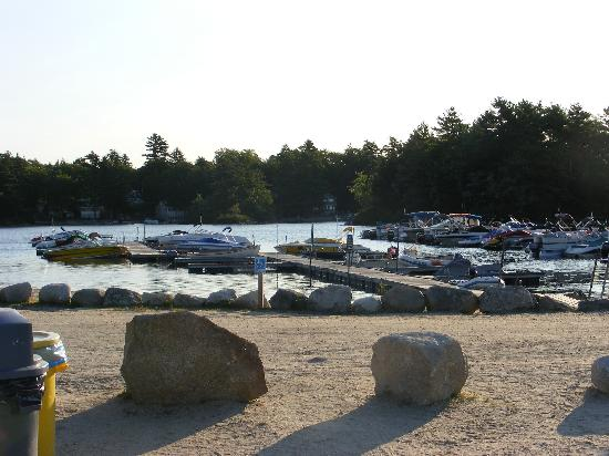 Point Sebago: Marina Docks
