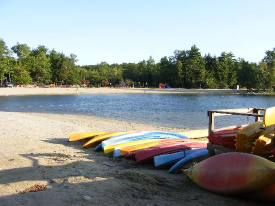 Point Sebago : Beach & Rental Kayaks