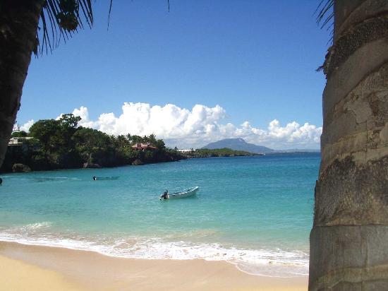 Sosua Beach: Vista a Pto.Plata desde Playa Sosúa