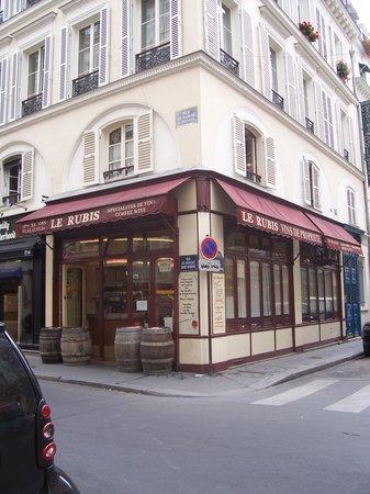 Le rubis paris 10 rue du marche saint honore louvre for Restaurant le miroir paris 18