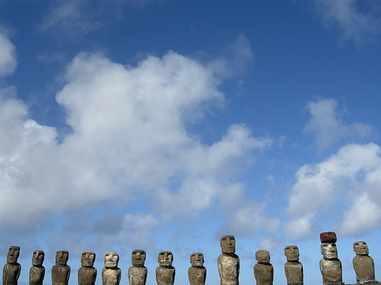 Easter Island, Chile: Ahu Tongariki