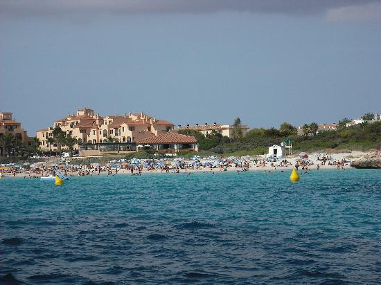 Aparthotel Paradise Club & Spa: Cala n Bosc beach