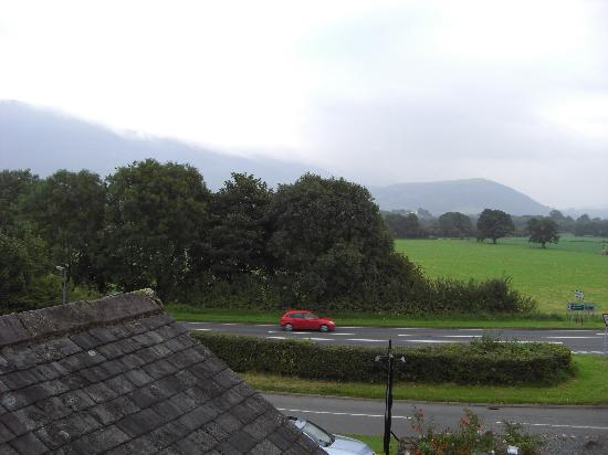 Middle Ruddings Country Inn: View From Room 4 Bedroom Window