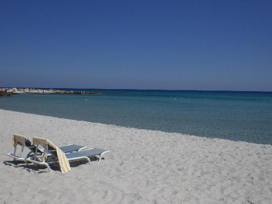 Kélibia (Qalibia), Túnez: La spiaggia dell'hotel