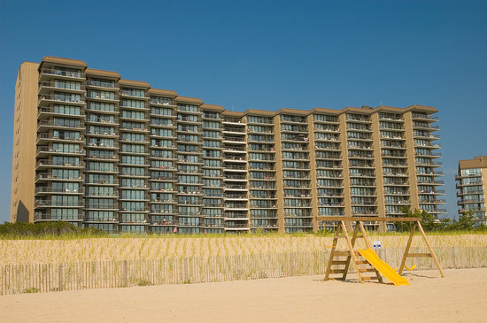 Bethany Beach, DE: Edgewater House from the Beach
