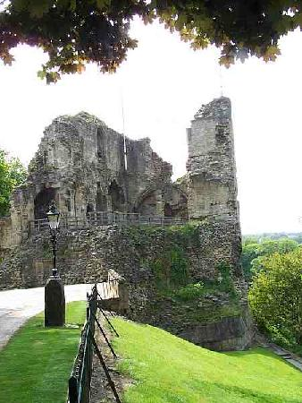 Knaresborough, UK: The castle