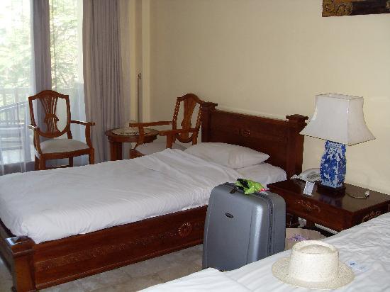 โรงแรมคูมาลาพันไท: Twin room Y block Kumala Pantai