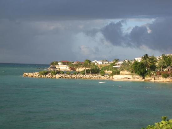 Blue Waters Antigua : from the rock cottage