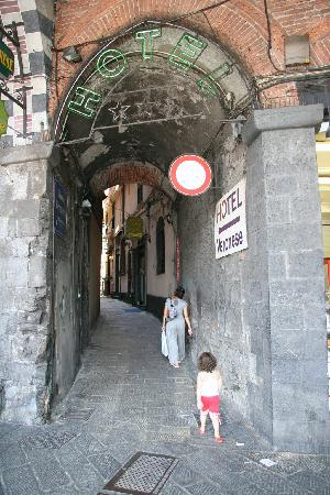 Hotel Veronese : Hotel is just up the alley