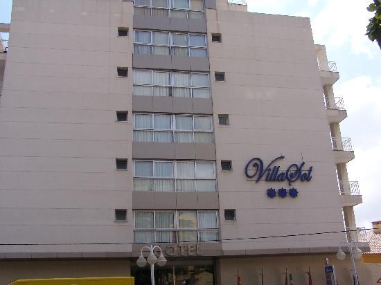 MedPlaya Hotel Villasol: Vista gneral del Hotel