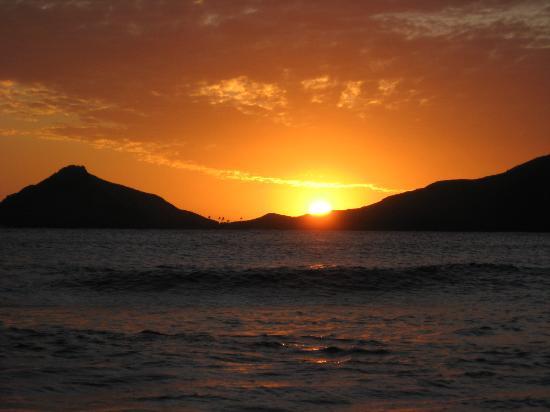 Naqalia Lodge: Sunset at Naqalia