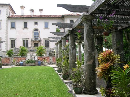 Side Of House That Faces Ocean Picture Of Vizcaya Museum And Gardens Miami Tripadvisor