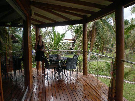 La Dolce Vita Holiday Villas: Our deck