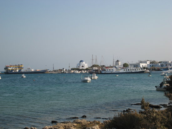 Antíparos, Grecia: the port