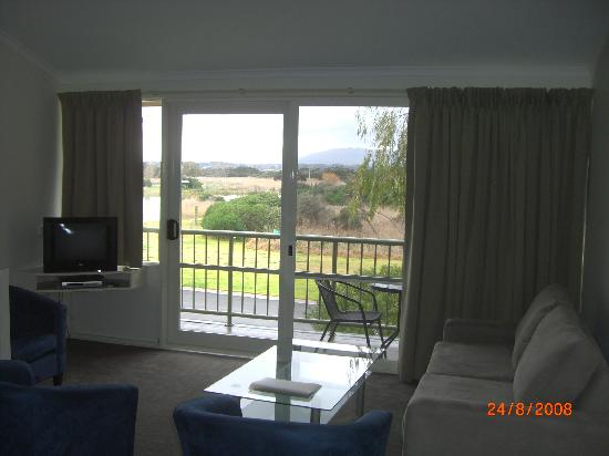 Rosebud, Australia: Lounge towards the Lake