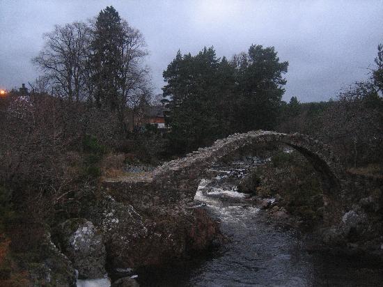 Nethybridge Hotel: river sprey nethybridge