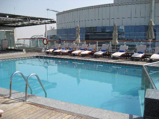 Hilton Dubai Creek: roof pool