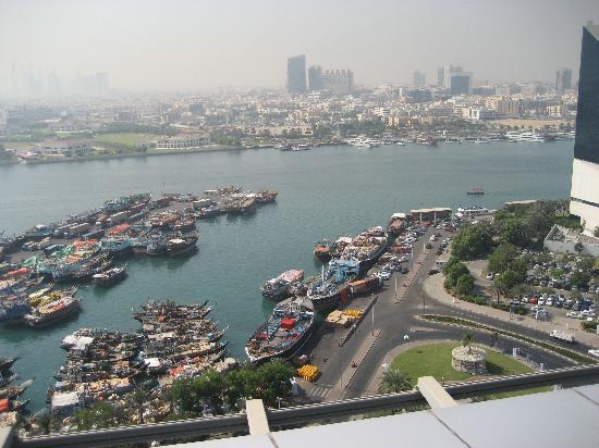 Hilton Dubai Creek: roof top view
