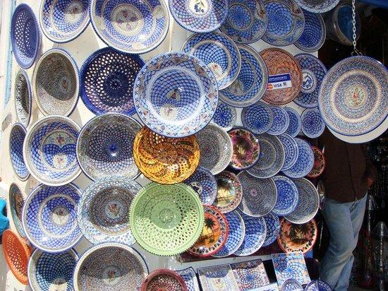 Tunisia: cerámica típica