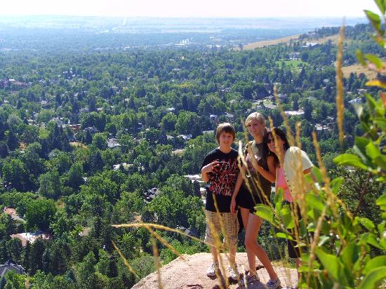 Homewood Suites by Hilton Boulder: View of Boulder from Boulder Mountain Park