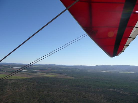Jaques Coffee Plantation: View from Microlight