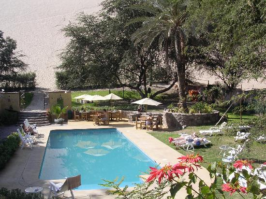 Hotel El Huacachinero: the pool