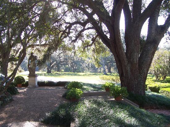 Afton Villa Gardens: View of the Gardens