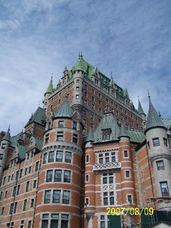 Québec (ville), Canada : Le Château Frontenac a five star hotel