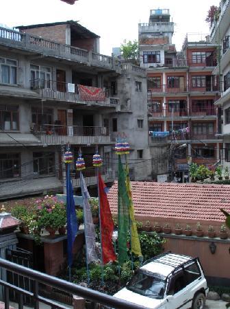 Tibet Guest House : vista desde la terraza