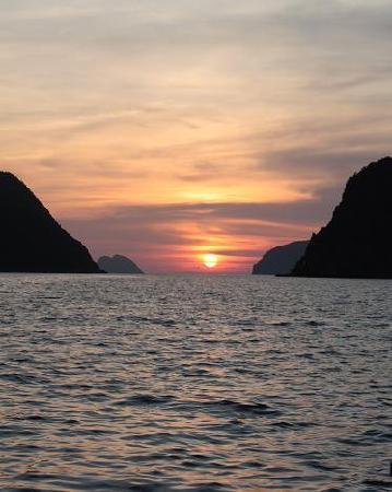 El Nido Resorts Lagen Island: during our sunset cruise