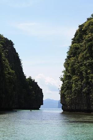 El Nido Resorts Lagen Island: entrance to the big lagoon