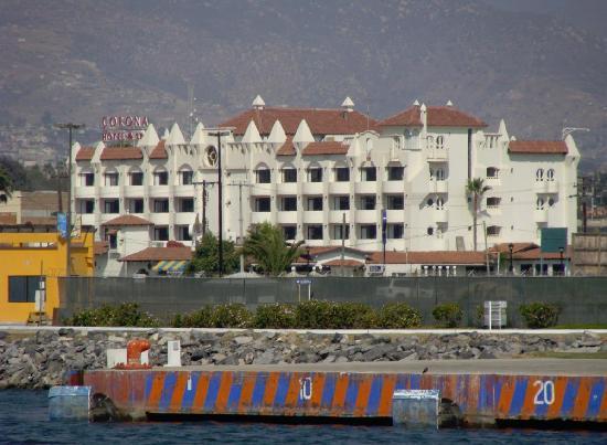 Corona Hotel & Spa : Hotel Corona, vista desde el mar