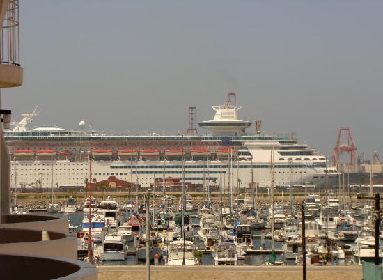 Corona Hotel & Spa : Hotel Corona, vista de la marina desde el balcón