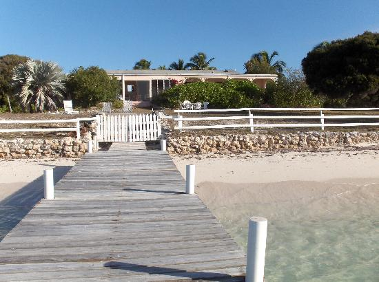 Anegada Reef Hotel: Setting Point villa viewed from dock