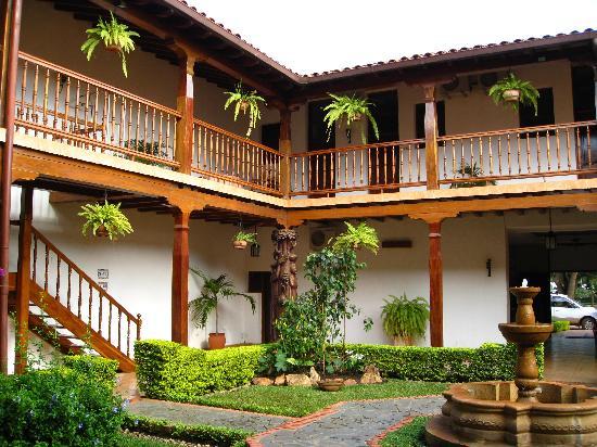 San Ignacio de Velasco, Bolivia: courtyard